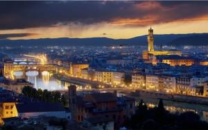 Illuminazione Palazzo Vecchio Firenze