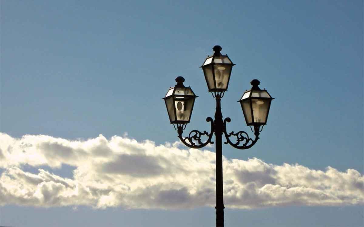 Illuminazione comunale urbana