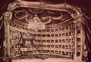 Teatro Regio metà del 1800